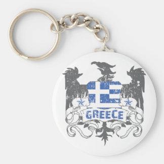 Greece Winged Keychain
