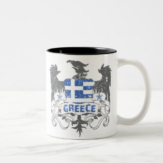 Greece Winged Mug