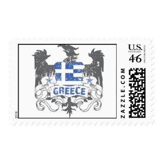 Greece Winged Postage Stamp