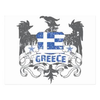 Greece Winged Postcard