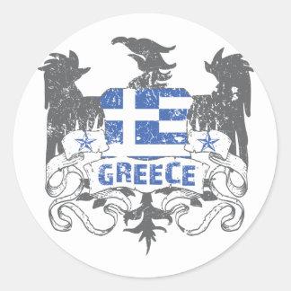 Greece Winged Sticker