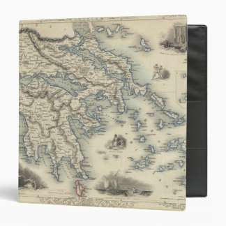 Greece with inset maps of Corfu and Stampalia Binder