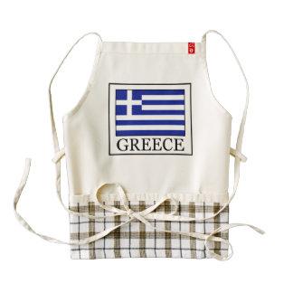 Greece Zazzle HEART Apron