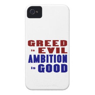 Greed & Ambition iPhone 4 Case