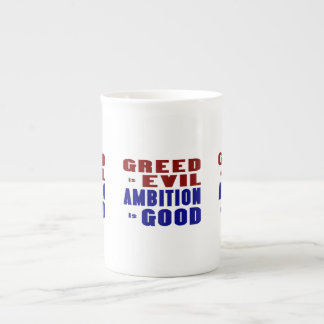 Greed & Ambition Tea Cup