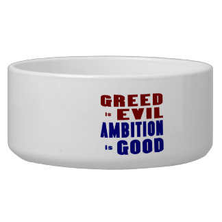 Greed and Ambition Bowl