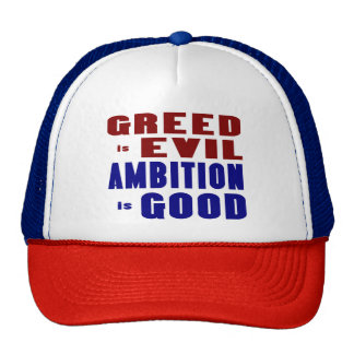 Greed and Ambition Trucker Hat