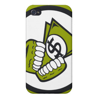 Greed Cover For iPhone 4