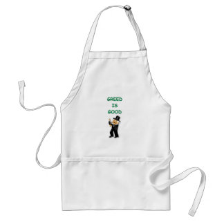 greed is good aprons