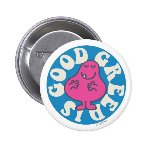 Greed is Good Pinback Buttons