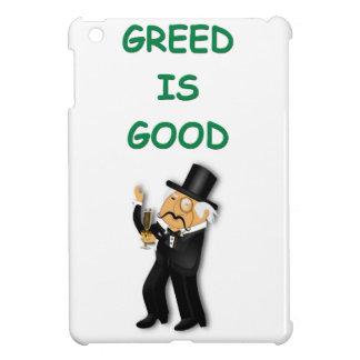 greed is good iPad mini cover