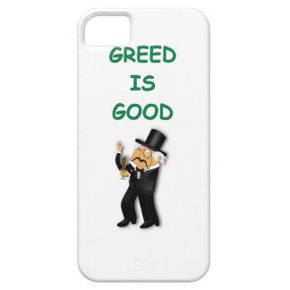 greed is good iPhone 5 covers