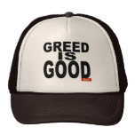 Greed is Good Mesh Hats