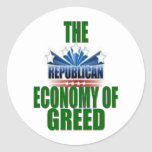 Greed is Good? Sticker