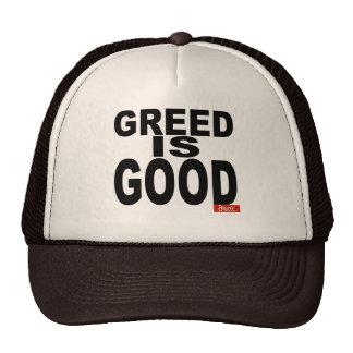 Greed is Good Trucker Hat