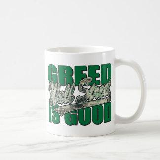 Greed Is Good/Wall Street Coffee Mug