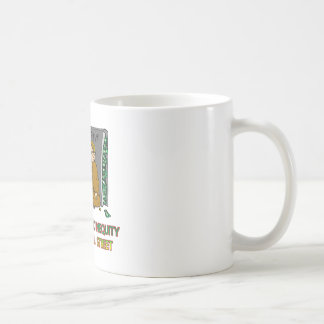 GREED  IS WHEN EVERYTHING ISN'T ENOUGH COFFEE MUG