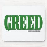 Greed Logo Mousepads