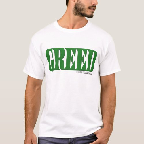 Greed Logo T_Shirt