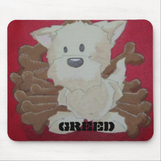 greed mousepad