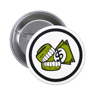 Greed Pinback Buttons