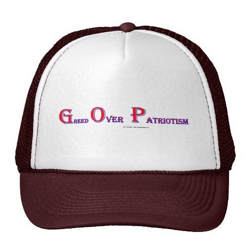 GreedOverPatriotism Mesh Hat