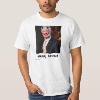 Greedy Bastard - Koch Klown #1 Tee Shirt