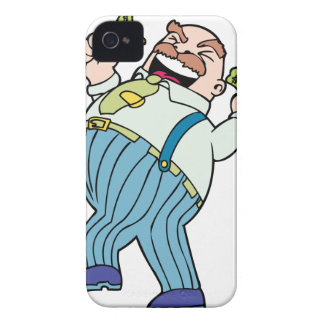 Greedy Boss iPhone 4 Cover