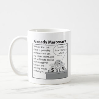 Greedy Mercenary Coffee Mug