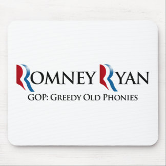 GREEDY OLD PHONIES -.png Mouse Pads