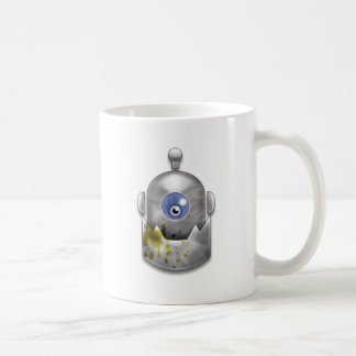 Greedy Robot Logo Coffee Mug