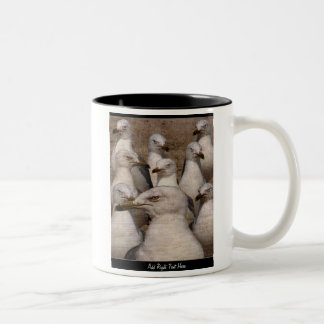 Greedy Scavaging Seagulls - CUSTOM MUG