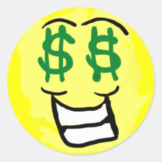 Greedy Smiley 2013 Sticker