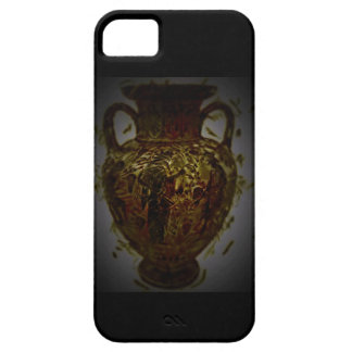 greek abstract poetry crazy unique pottery iPhone SE/5/5s case