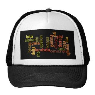 Greek Alphabet (Word Cloud) Trucker Hat