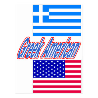 Greek American merchandise Postcard