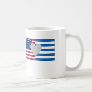 Greek American mug