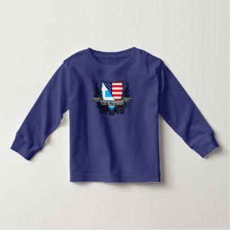 Greek-American Shield Flag T-shirts