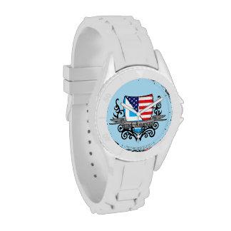 Greek-American Shield Flag Watches