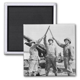 Greek-American Soldiers, 1943 Magnet
