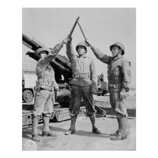 Greek-American Soldiers: 1943 Poster