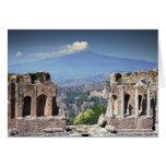 Greek Amphitheatre 2 Card
