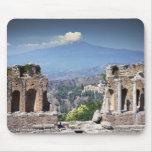 Greek Amphitheatre 2 Mouse Pad