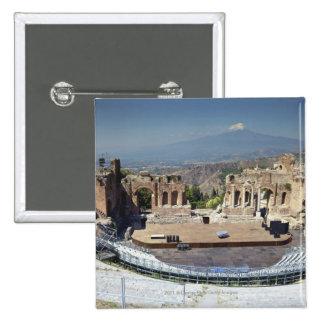 Greek Amphitheatre 3 Pinback Button