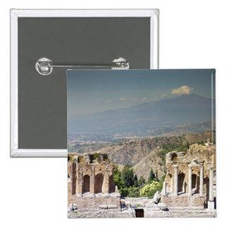 Greek Amphitheatre Pinback Button