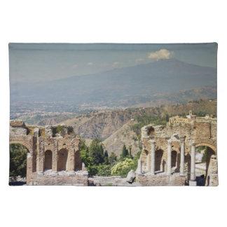 Greek Amphitheatre Cloth Placemat