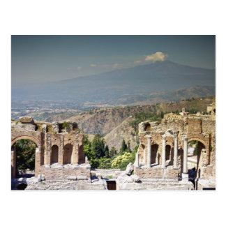 Greek Amphitheatre Postcard
