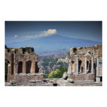 Greek Amphitheatre Poster