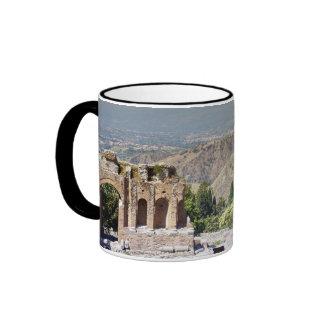 Greek Amphitheatre Ringer Mug