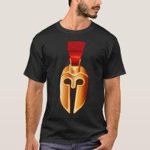 Greek Ancient Battle Helmet T-Shirt